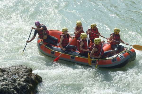 Rafting et Canoraft